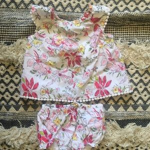 Náutica Two Piece Baby Girl Outfit